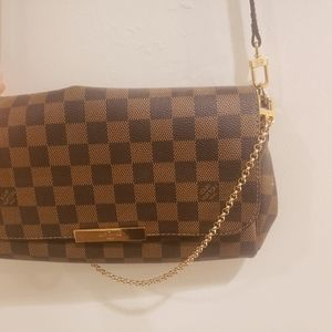 Louis Vuitton Favorite MM Damier Ebene Crossbody